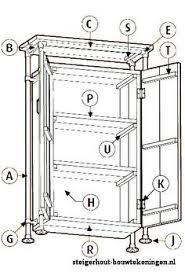 bouwtekening boekenkast nodig