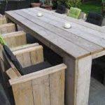 Lounge meubelen van steigerhout