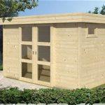 Een tuinhuisje zelf bouwen